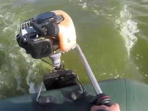 как пользоваться лодочными моторами