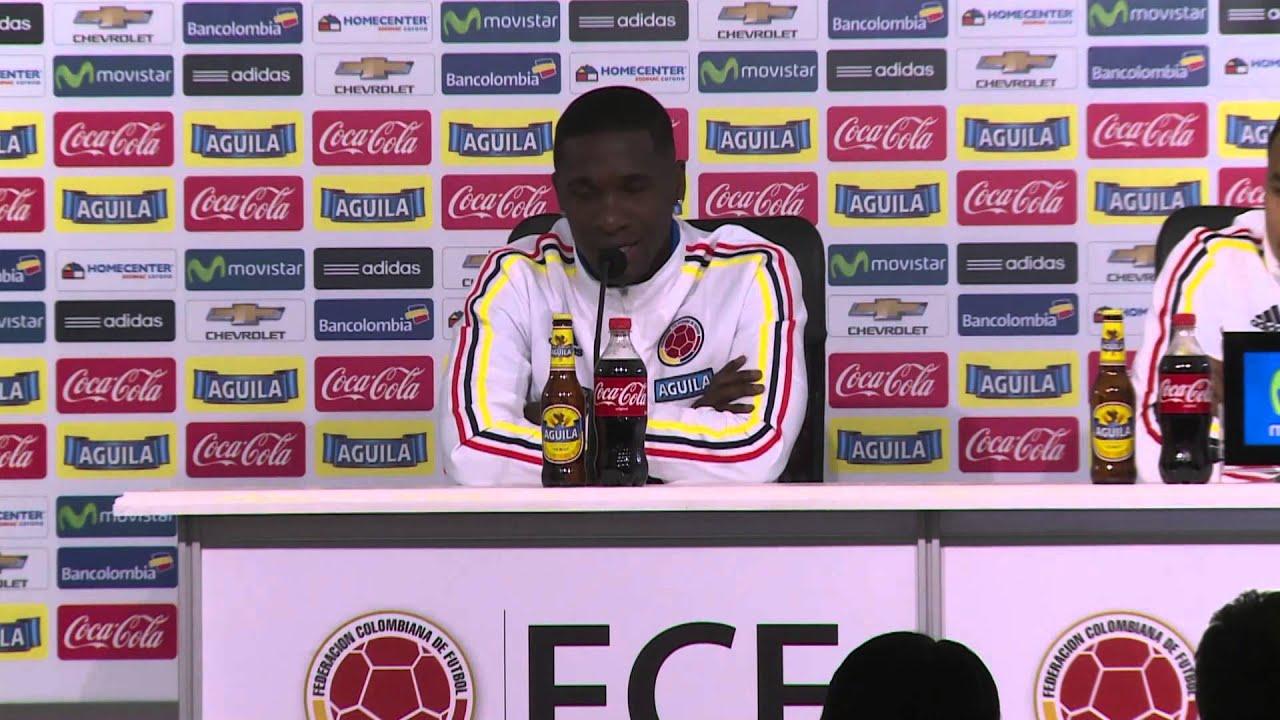 """Copa America 2015: Zapata: """"Perú tiene delanteros de talla mundial"""" #CopaAmericaChile2015"""