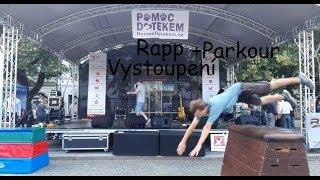 Video Rapp vystoupení na náměstí + Parkour
