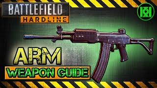 ARM Review (Gameplay) Best Gun Setup | Battlefield Hardline Weapon Guide (BFH)