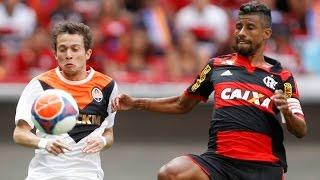 Curtam nossa página: http://www.facebook.com/LeandroSportsVideos Em partida disputada, Flamengo fica apenas no empate...