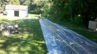 Acme slip & slide slingshot