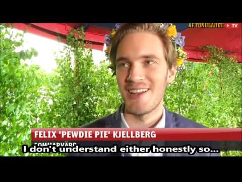 Interview With Pewdiepie, June 2014 Sweden (HD)