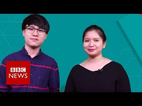 Thailand election: Young voters could be key to victory - BBC News