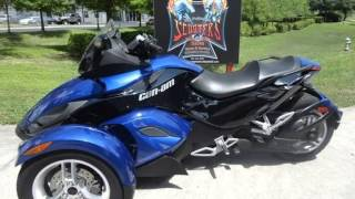 10. 2010 CAN AM SPYDER RS SE5  Used Motorcycles - Sorrento,Florida - 2014-05-21
