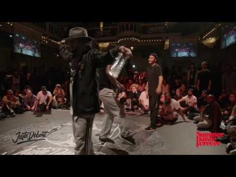 Final Hiphop JUSTE DEBOUT HOLLAND 2017 | Pdog & Franky Dee (GER) vs Dimension & Jeremy (NL)