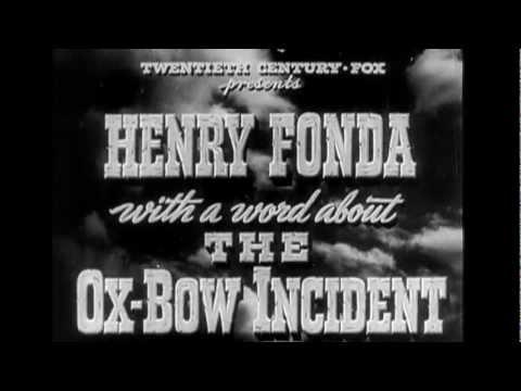 1943 - The Ox-bow Incident - L'étrange Incident