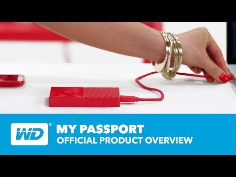 """WD My Passport 2,5"""" 1TB USB3 külső merevlemez, kék (WDBYNN0010BBL-WESN)"""