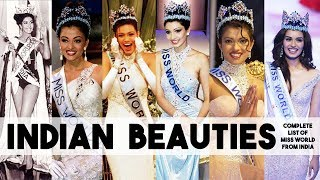 Video Indian Beauties - Complete list of Miss World from India | Crowning moment and Best answers MP3, 3GP, MP4, WEBM, AVI, FLV Juni 2018