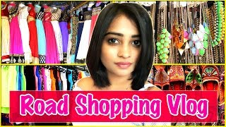 Indian Mom's Road Shopping Vlog - Capri In Rs.30/-only