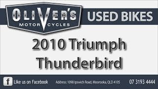 6. Oliver's Used Bike Review, 2010 Triumph Thunderbird