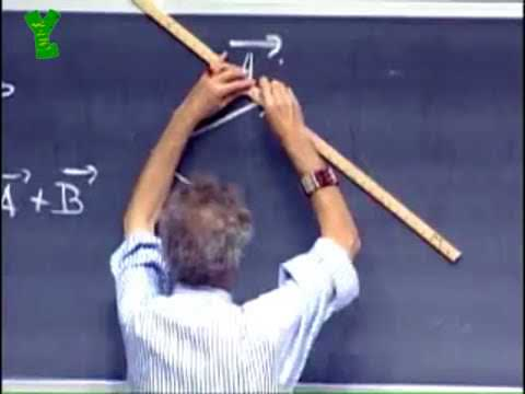 MIT Professor s Drawing Dotted Lines On A Chalkboard