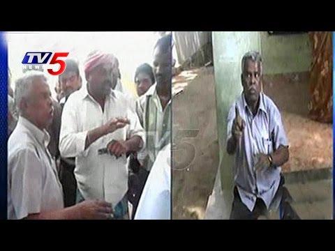 Drunken Principal accused of Kissing Students & Abusing Teachers   Chittoor   TV5 News