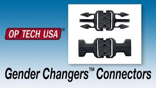 OP/TECH USA System Connectors - Gender Changers