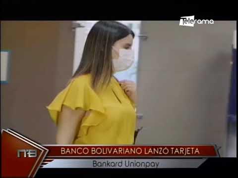 Banco Bolivariano lanzó tarjeta Bankard Unionpay