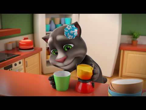 🤪 Crazy Smoothie Challenge – NEW FUN in My Talking Tom 2