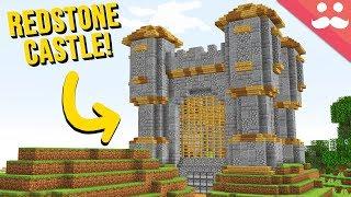 I Made a Piston Castle in Minecraft