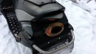 9. Yamaha Apex with Excell exhaust idle