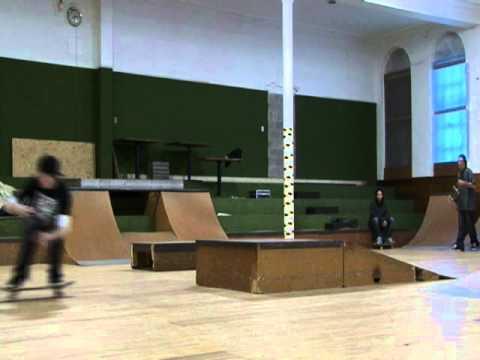 Slow Motion Bridgewater Skatepark Montage
