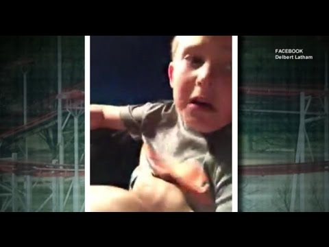 VIDEO: Father Grabs Son After Roller Coaster Seat Belt Breaks