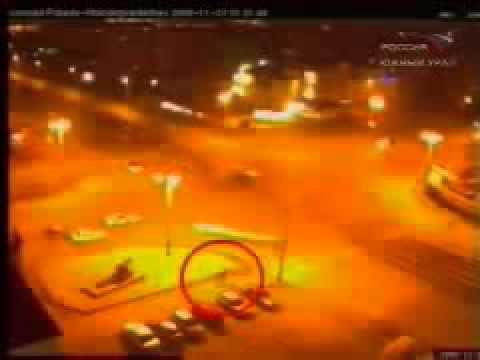 rapimento alieno ripreso da una videocamera in russia