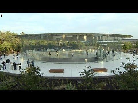 العرب اليوم - شاهد: نظرة أولى داخل مسرح ستيف جوبز الجديد