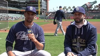 Q&A With Tyson Ross and Brandon Morrow