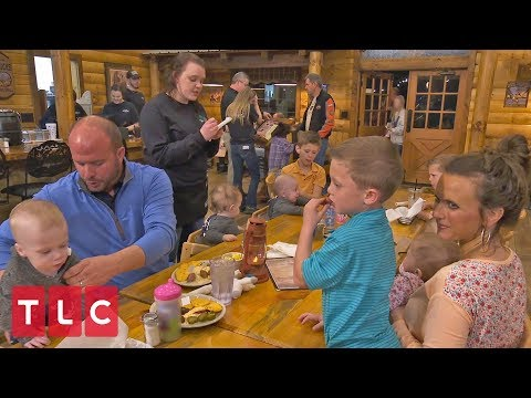 The Babies' First Dinner at a Restaurant | Sweet Home Sextuplets