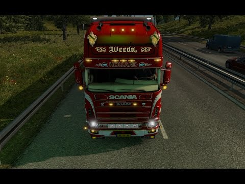 Scania Weeda 124L Holland Truck