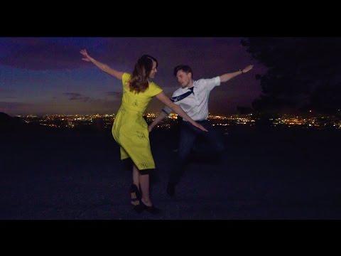 Husband + Wife Recreate LA LA LAND Scene - A Lovely Night