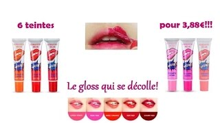Magic Rouge à Lèvres Tatouage-Tattoo Lipgloss peel off [Test et Swatch] - YouTube