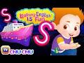 ChuChu TV Learning English Is Fun™ | Alphabet S Song | Phonics & Words For Preschool Children