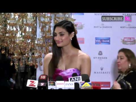 Athiya Shetty - Hello Hall of Fame 2016