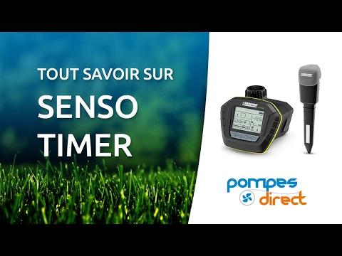Programmateur d'arrosage Senso Timer Ecologic de Karcher
