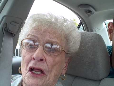 Grandma Telling a Dirty Joke