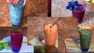 Как разгрузить, очистить и наполнить организм витаминами? Смотри в этом видео. Здесь ты найдешь 5 рецептов смузи, каждый со своим оригинальным вкусом. Приятным бонусом будет уменьшение веса)Еще больше вкусных полезных рецептов вы найдете на канале FitEat  https://www.youtube.com/channel/UCnlIG8IWelWKi846TdaoXQA Подписывайтесь!FitEat в инстаграмме - https://instagram.com/fit.eat.fit/https://youpartnerwsp.com/join?83782В видео использована музыка с сайта http://audiomicro.com