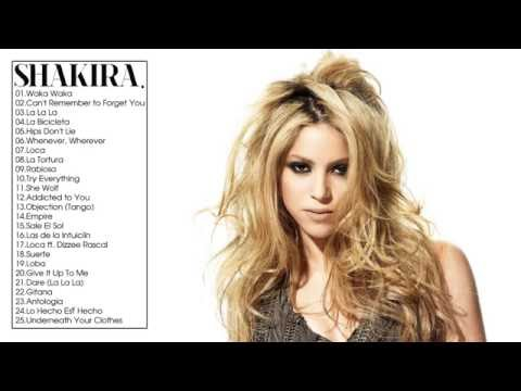 Download Shakira Greatest Hits Full ALbum Live Cover 2017 HD Mp4 3GP Video and MP3