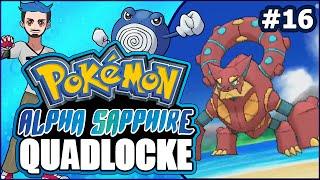 Pokémon AlphaSapphire Randomizer Quadlocke Part 16 | VOLCANI-YOU NOT, MATE!? by Ace Trainer Liam