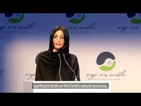 Eye on Earth Summit 2015 - H.E Razan Al Mubarak - Opening Ceremony