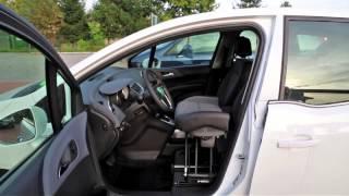 Elektricky zvedací sedadlo MYOPAT 002 ve voze OPEL Meriva