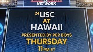 USC at Hawaii promo