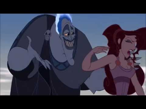 """HERCULES [1997] Scene: """"The right curves""""/Herc's Weakness."""