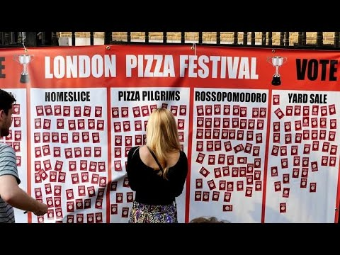 2016 London Pizza Festival