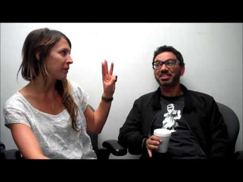 Ashlee interviews actor/ comedian Al Madrigal on The Show - Rock 105.3