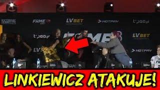 FAME MMA 3 Linkiewicz vs Godlewska Druga Konferencja