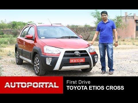 Toyota Etios Cross Review 'First Look' – AutoPortal