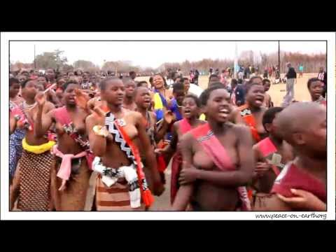 2012 Umhlanga Reed Dance Ceremony, Swaziland (2)