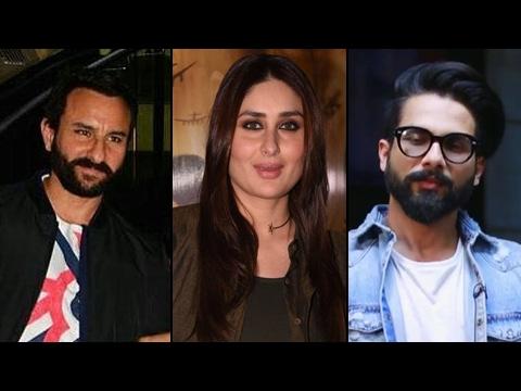 Kareena Kapoor Ignores Shahid Kapoor, Praises Saif