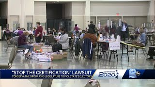 Group sues to stop certification of Wisconsin results
