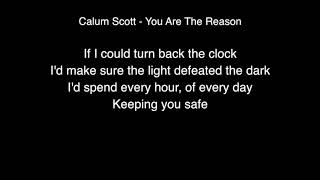 Video Calum Scott - You are the reason Lyrics (Live From Abbey Road Studios) MP3, 3GP, MP4, WEBM, AVI, FLV Maret 2018